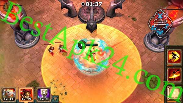 Legendary Heroes MOD APK v3.0.5 (unlimited gold & crystal) Download Direct Link's 3