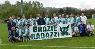 Trasaghis in festa per la promozione in Prima Categoria