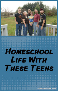 Homeschool Life With These Teens on The Homeschool Post @ hsbapost.com