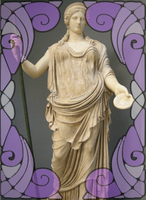 Hera's Statue | Wicca, Magic, Witchcraft, Paganism