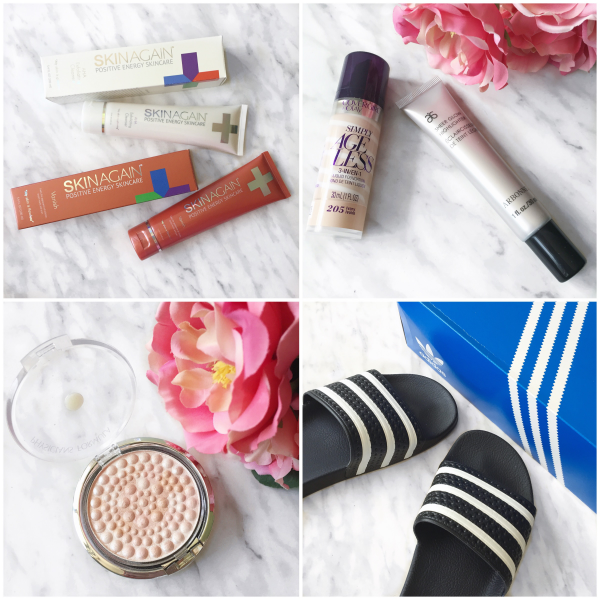 bbloggers, bbloggersca, canadian beauty bloggers, instagram, instamonth, skinagain, vanish, exfoliating cleanser, arbonne sheer glow, covergirl simply ageless, physicians formula pearls translucent, adidas slides, sandals