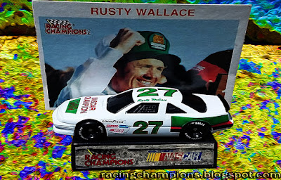 Rusty Wallace #27 1989 NASCAR Champion Racing Champions 1/64 NASCAR diecast blog Kodiak