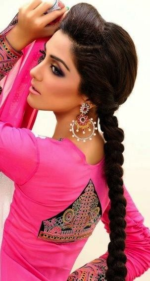 panjabi hair style 29 breathtaking braided hairstyles for indian 9127