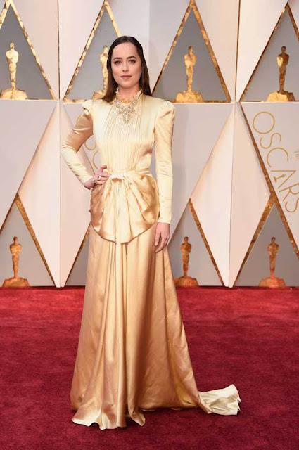 Dakota Johnson at 89th Annual Academy Awards