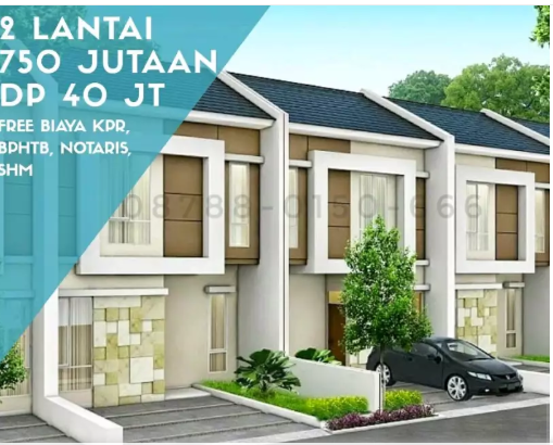 Dp 40 Juta Free Biaya Kpr Perumahan Di Sariwangi Bandung Rumah