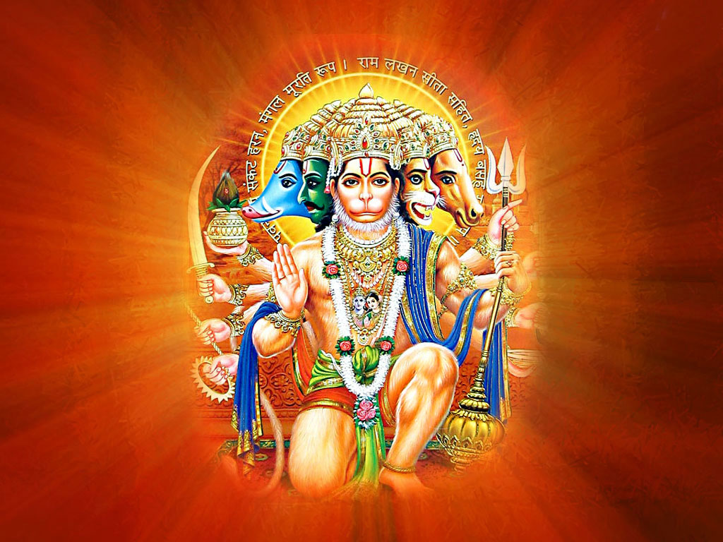 Panchmukhi Hanuman HD Wallpapers