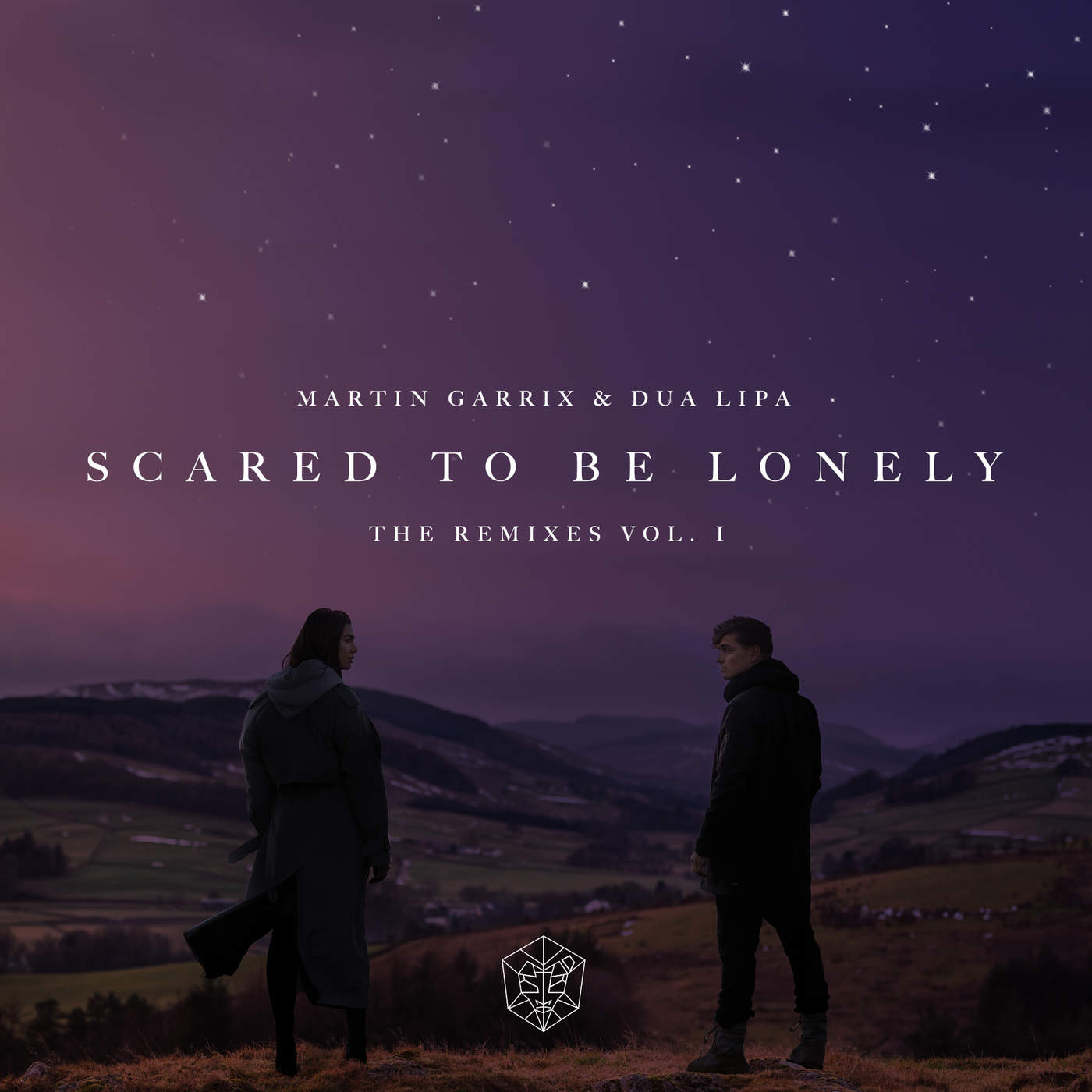 Martin Garrix & Dua Lipa - Scared to Be Lonely (Remixes, Vol. 1) - EP Cover