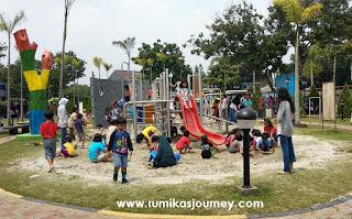 tempat wisata di depok  taman pemuda pratama