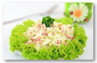 Салат с креветками с кальмарами и мидиями рецепты 124