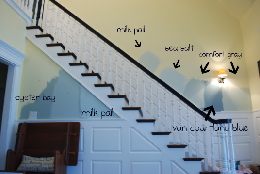 And Paint Larger Sections Of Wall With The You Do Like I Originally Thought D Go Darker Van Courtland Blue Or Oyster Bay