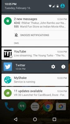 Cara Menonaktifkan Notifikasi/Pemberitahuan Aplikasi Android