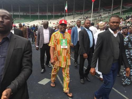 Governor Wike congratulates Atiku, then walks out of venue