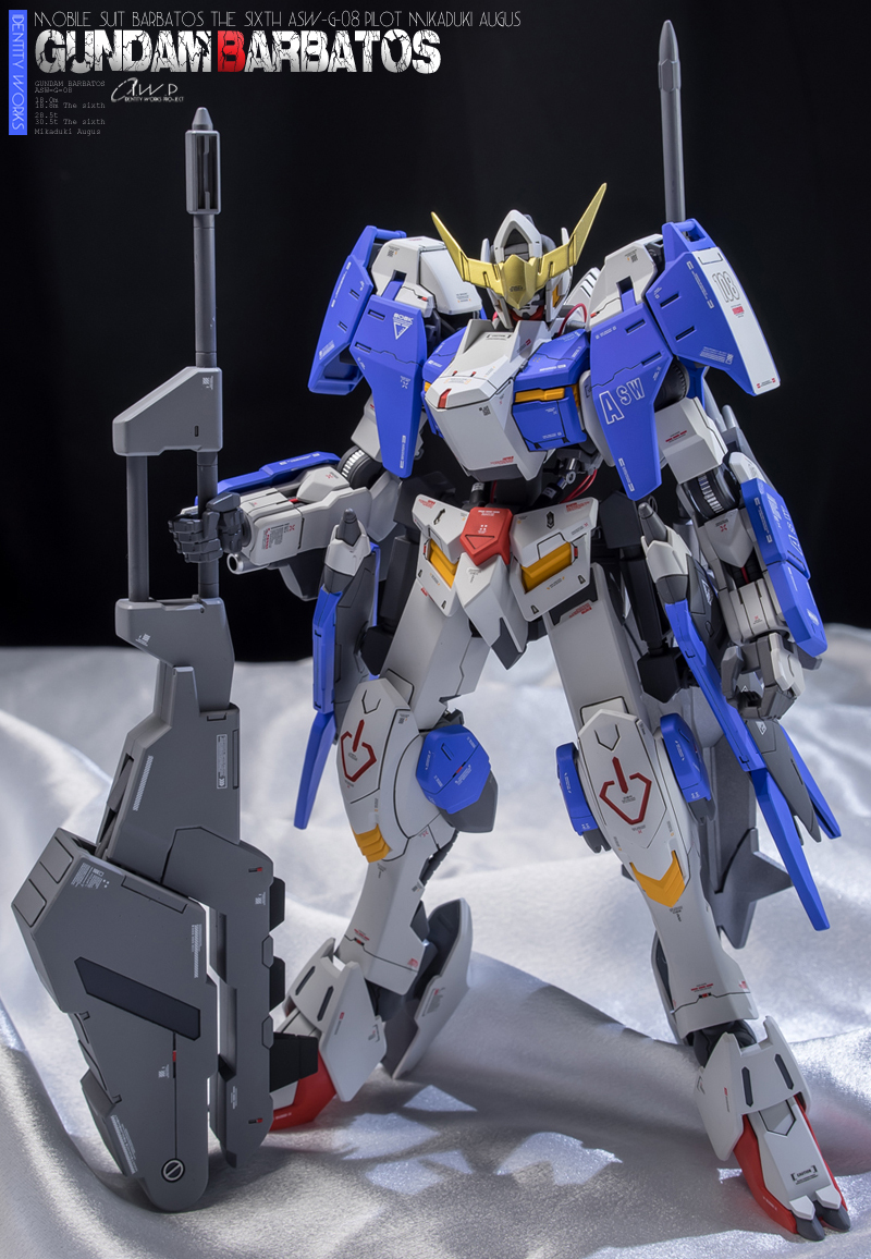 GUNDAM GUY: 1/100 Gundam Barbatos Form 6 - Customized Build