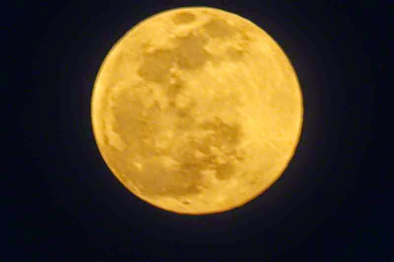 Full Moon, Okinawa, Japan, May 2014