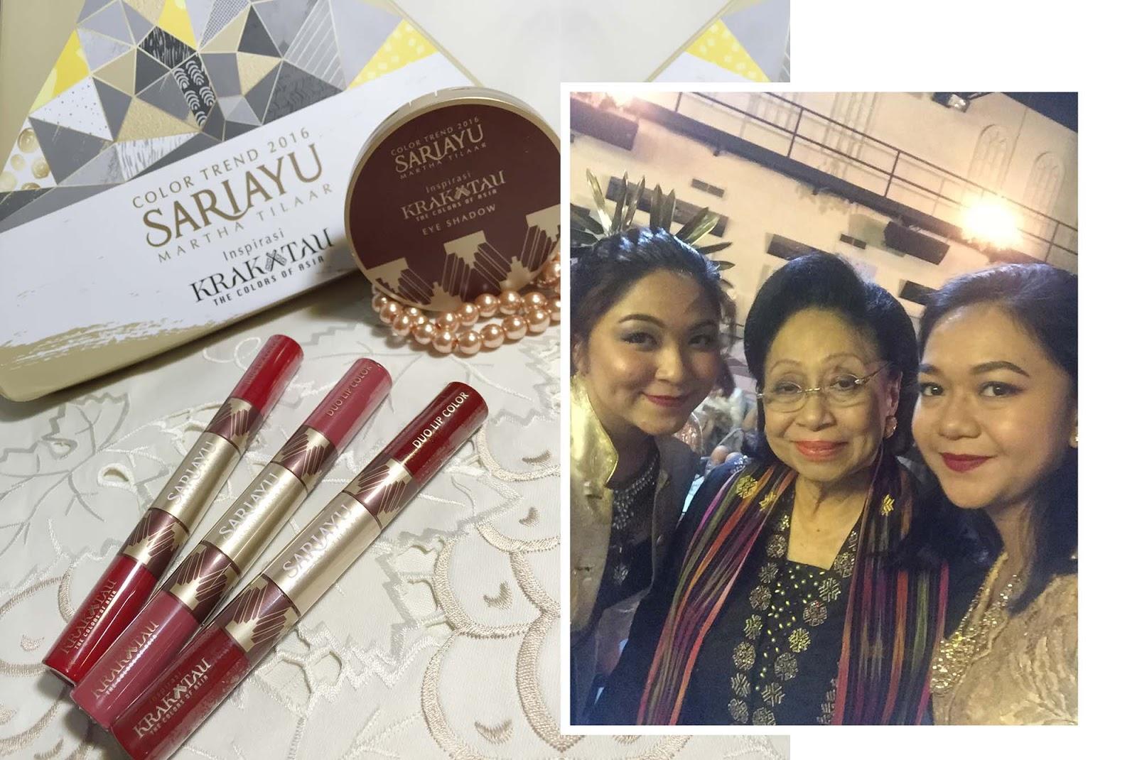 Sariayu Martha Tilaar Color Trend 2016 Inspirasi Krakatau 16 Duo Lip K 10 Trendwarnakrakatau