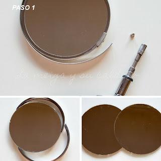 Espejo para maquillaje DiY - Paso 1