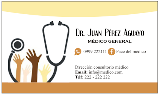 Para doctores las mejores tarjetas profesionales