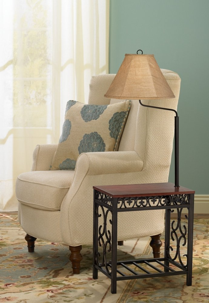 End Tables With Built In Lamp