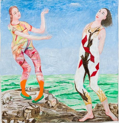"by Charles Garabedian - ""Clytemnestra & Iphigenia"""