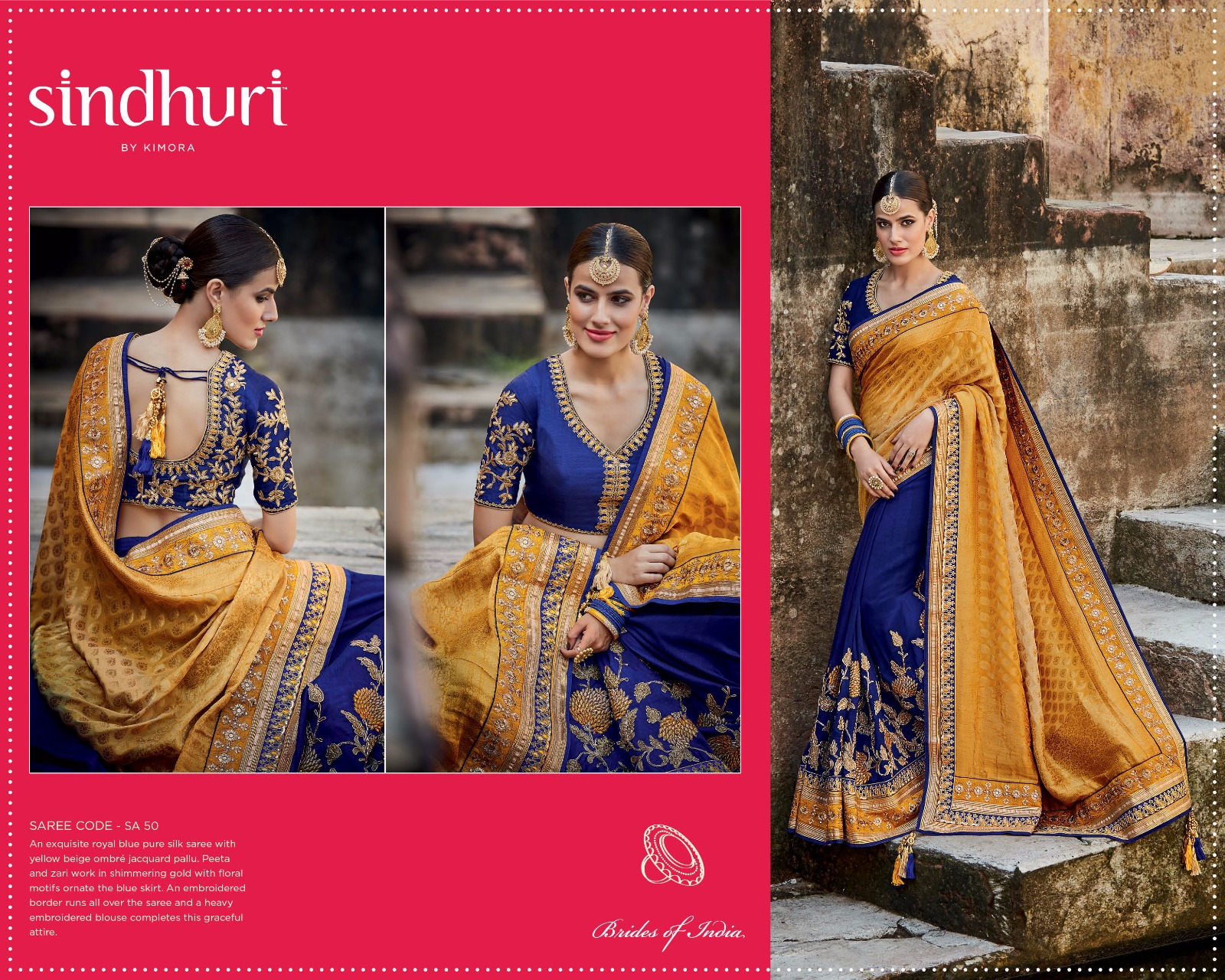 Sindhuri Vol 4 – Beautifully Design Of Unique Stylish Saree Buy Online