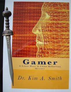 Portada del libro Gamer, de Kim. A. Smith