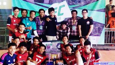 Hukum Juara Siskom Futsal Cup 2016