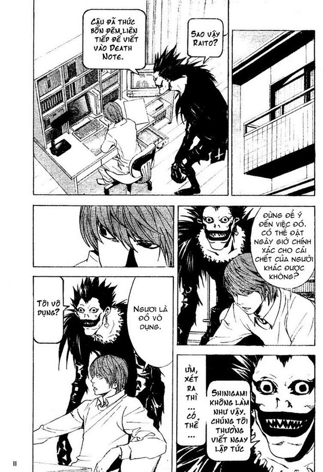 Death Note chapter 015 trang 11