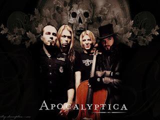 Les membres d'Apocalyptica
