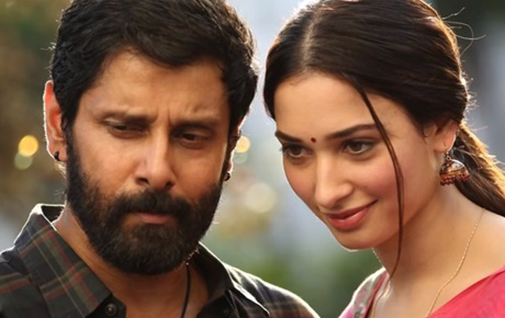 Tamanna asks Who is SKETCH ? | Vikram at Last Day Shooting Celebration
