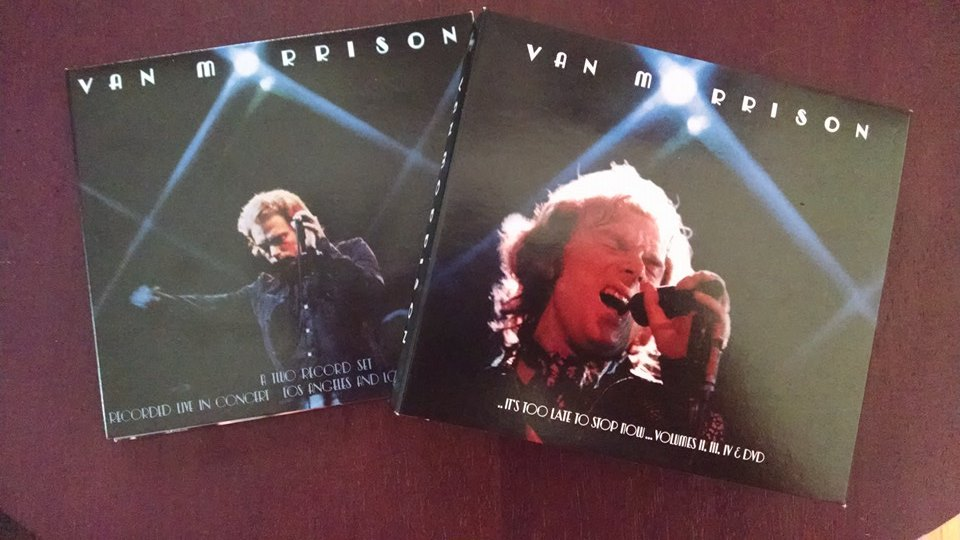 Talk From The Rock Room Van Morrison It S Too Late To Stop Now Volumes Ii Iii Iv Dvd Caledonia Soul Orchestra