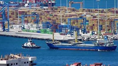 Puerto de La  Luz, Las Palmas de Gran Canaria, donde fueron incautados 28 kilos de cocaína