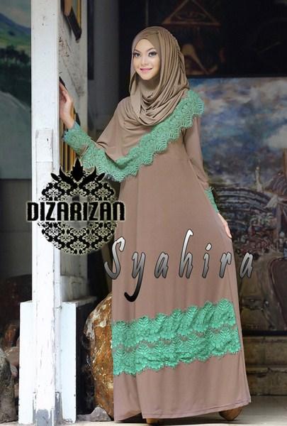 Model Baju Muslim Lebaran Mewah dan Elegan
