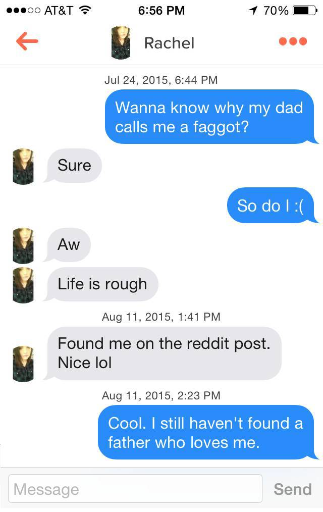 What to talk on tinder