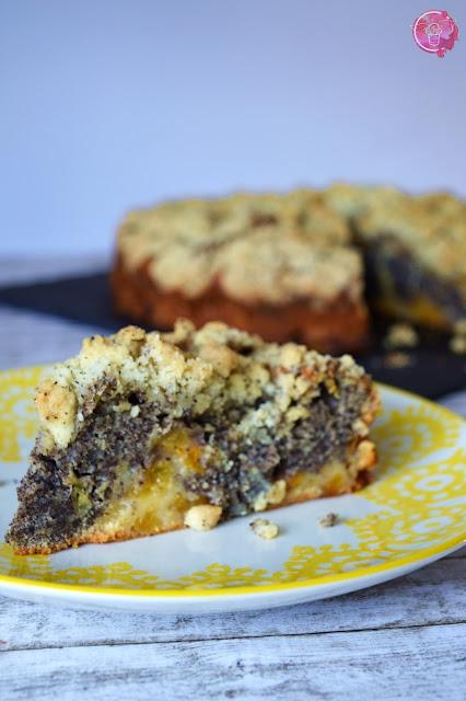 Mohn-Aprikosen-Kuchen