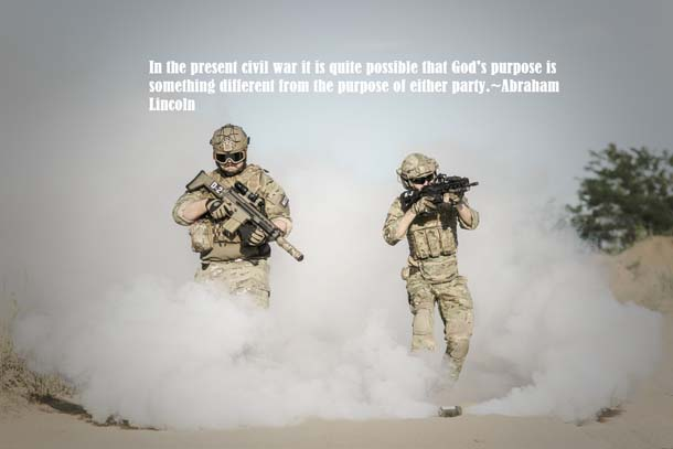Abraham Lincoln Quotes About War