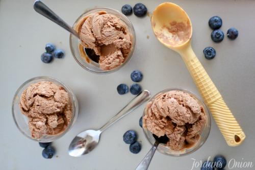 Chocolate ice cream recipe - 5 ingredients and easy to make   Jordan's Onion