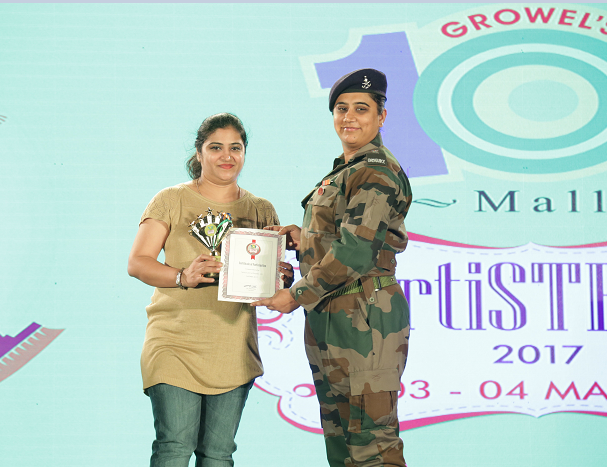 Growel's 101 Mall celebrates the spirit of womanhood at ArtiSTREE-2017
