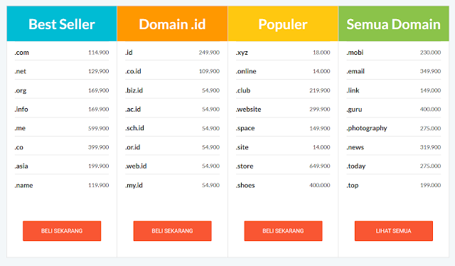 IDwebhost Web Hosting Murah No. 1 di Indonesia