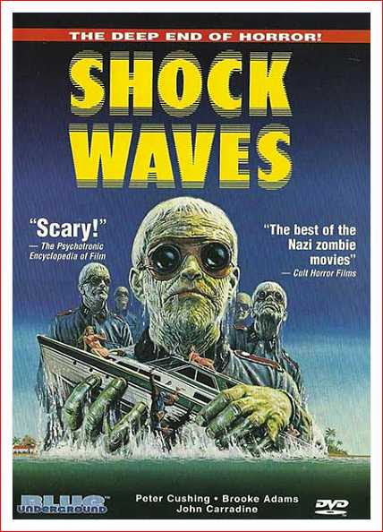 Carátula DVD de Shock Waves, Blue Underground