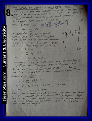 physics current and electricity class 12 notes