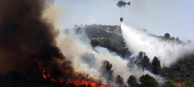 Πάνω από 50 πυρκαγιές κατακαίουν την Ισπανία (βίντεο)