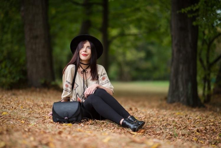 boho stylizacja jesień blog