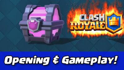 Cara Mudah Mendapat Magical Chest Clash Royale
