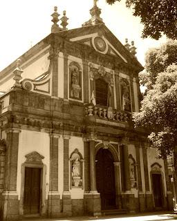 Igreja Santa Cruz dos Militares, no Rio de Janeiro