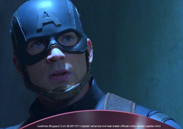 CAPTAIN AMERICA CIVIL WAR TRAILER OFFICIAL VIDEO TEASER of CAPITÃO LEALTUDO