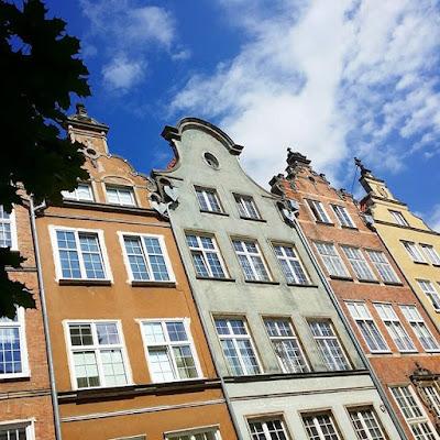 Casas holandesas en Gdansk