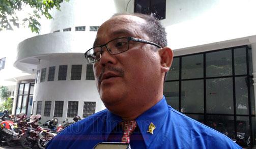 Kepala Dinas Penanaman Modal dan pelayanan Terpadu Satu Pintu A. Hendro Agung Prasetyarto, SH