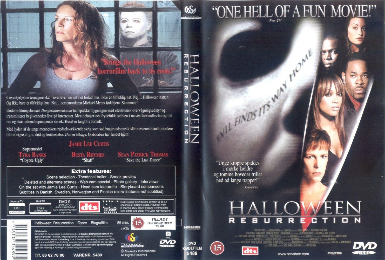 Dejlig The Horrors of Halloween: HALLOWEEN RESURRECTION (2002) VHS, DVD NR-25