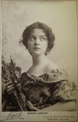 Minnie Ashley by Falk, 1897