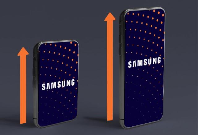 هاتف جديد ومدهس من سامسونغ يتوفر على شاشة قابلة للتمديد